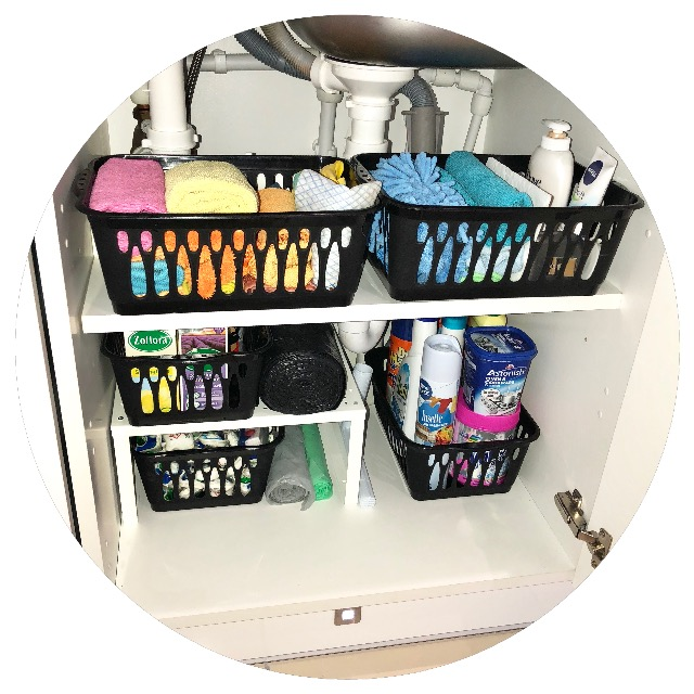 Under-sink organisation for under £10