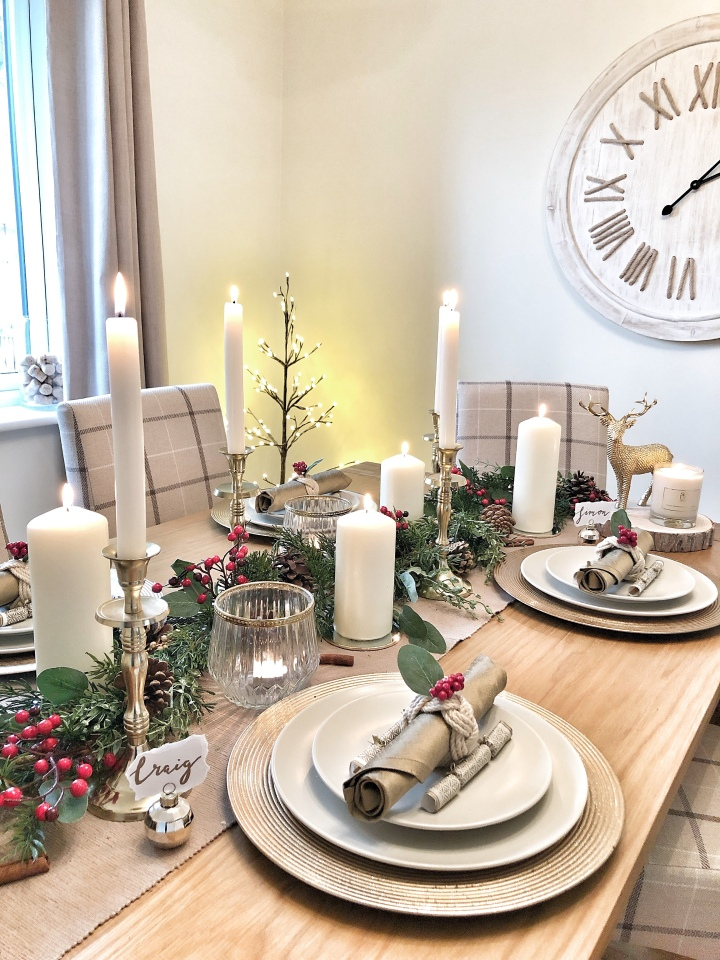 Ad | Christmas Table Decor with Dobbies Garden Centres ...